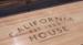 California House District Shuffleboard Table