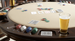 California House City Reversible Top Game Table
