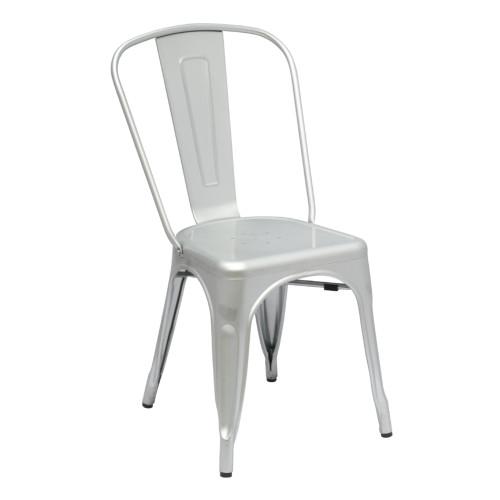 Fine Mod Imports Talix Chair, Silver