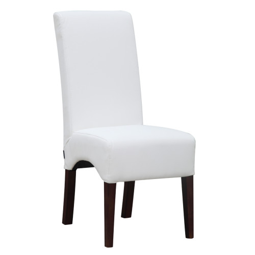 Dinata Dining Chair, White Set of 2