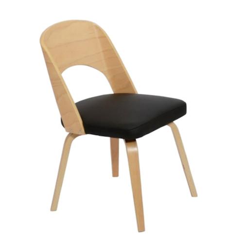 Bendino Dining Chair, Black