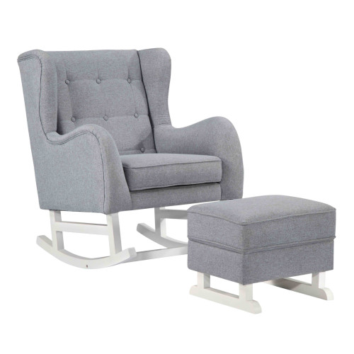 Baby Lounge Rocker Chair, Gray