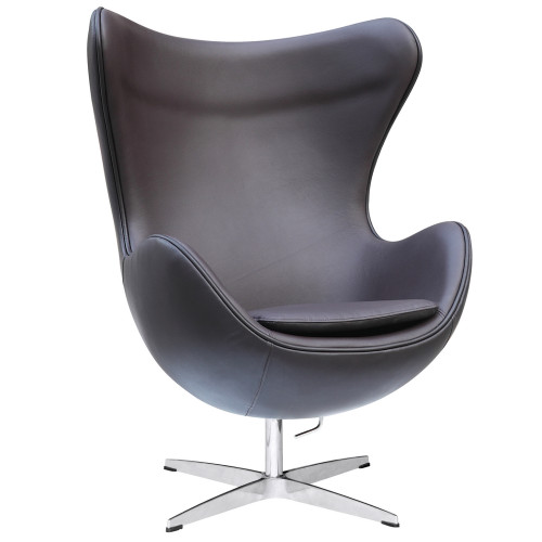 Inner Egg Chair Leather, Brown