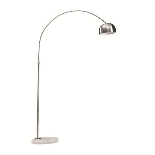 Fine Mod Imports Arch Lamp Small Base, White