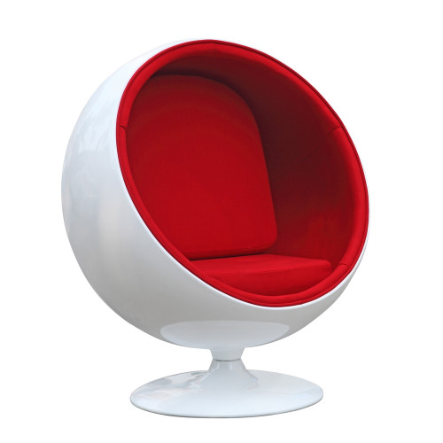 Ball Chair, Red