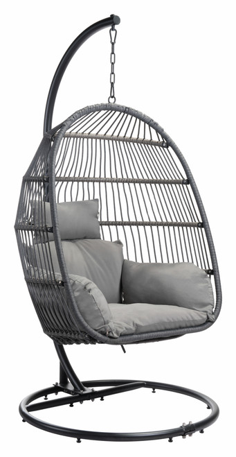 Bilbao Hanging Chair Gray