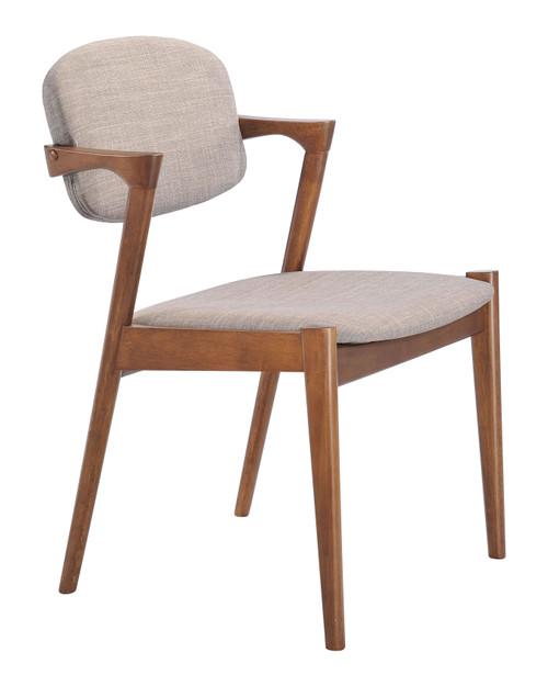 Brickell Dining Chair Gray