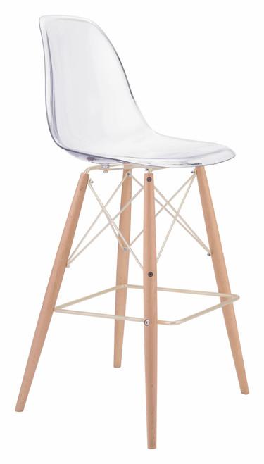 Shadow Bar Chair Natural & Gold