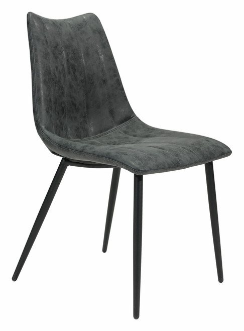 Norwich Dining Chair (Set of 2) Vintage Black