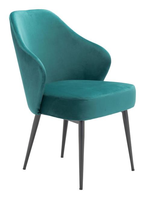 Savon Dining Chair Green