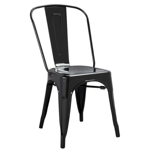 Tolix Chair, Black Set of 2