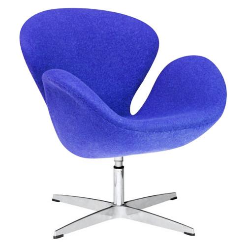 Swan Chair Fabric, Blue