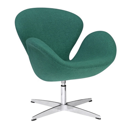 Swan Chair Fabric, Green