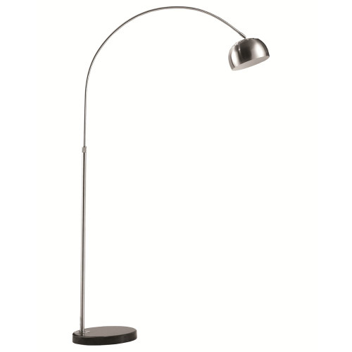 Fine Mod Imports Arco Coster Lamp, Black