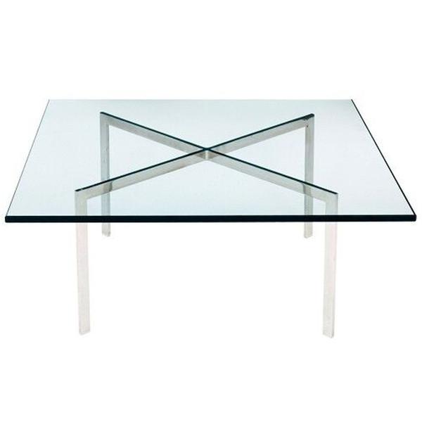 Fine Mod Imports Pavilion Coffee Table, Glass
