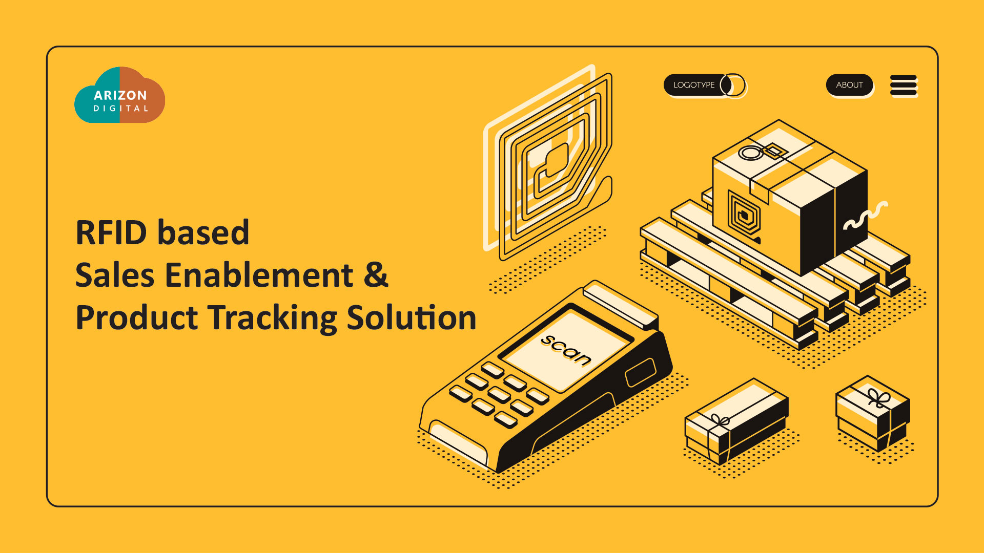 RFID based sales enablement & product tracking solution