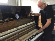 Wertheim/Fandrich series piano now at Sydney Conservatorium