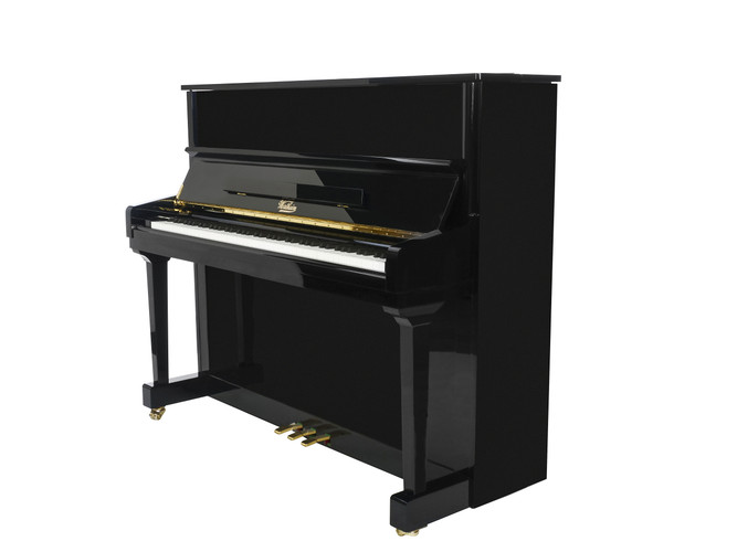 """W133 BP Full size upright piano """" If you're not getting the Wertheim story you're not getting the real story """""""