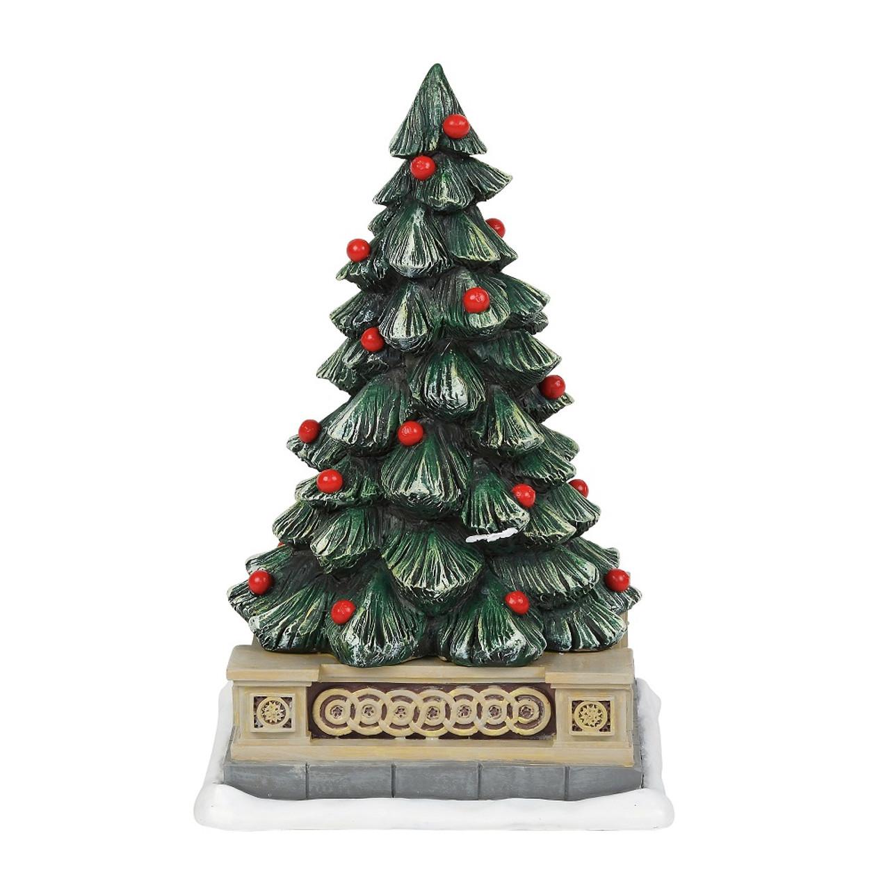 Christmas Village Accessories.Department 56 General Village Accessory Classic Christmas Holiday Tree2018