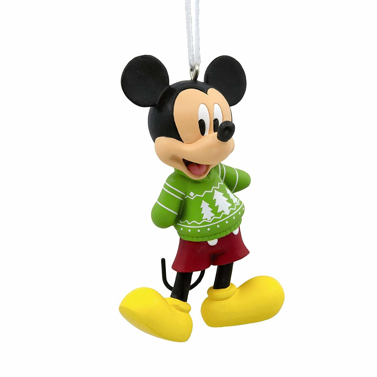 Hallmark Ornament Disney Mickey Mouse Christmas Sweater