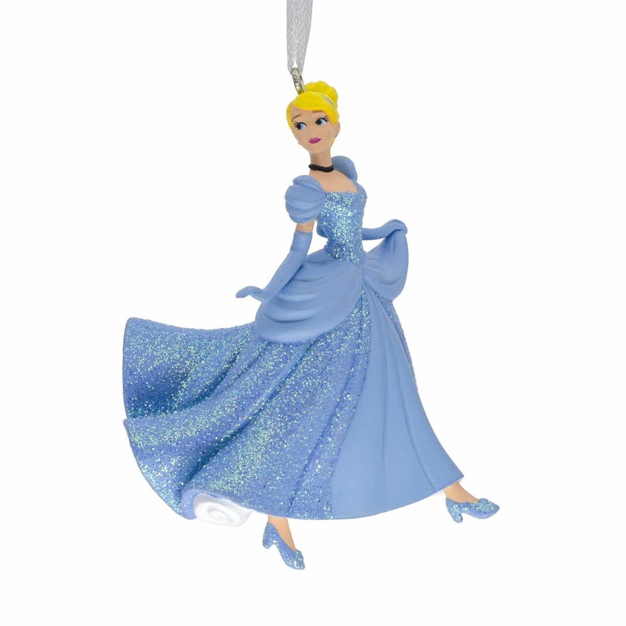 Cinderella Christmas.Hallmark Disney Princess Cinderella Christmas Ornaments
