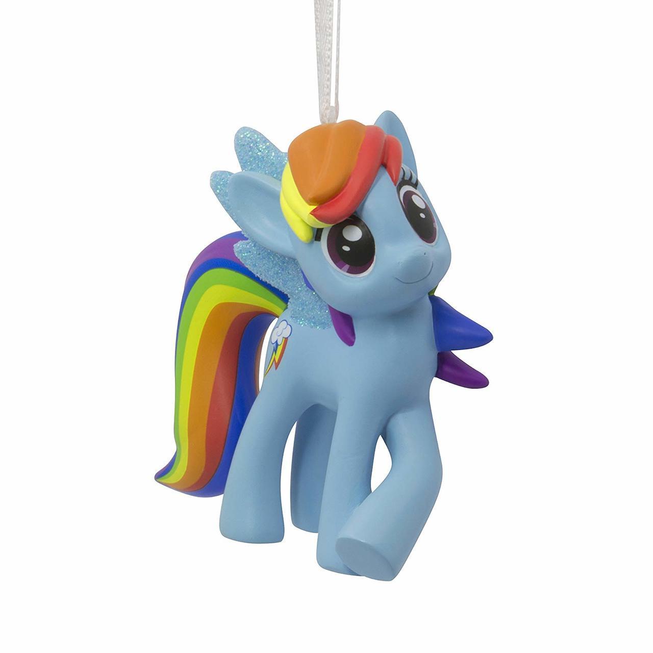 Hallmark Christmas Ornaments.Hallmark Hasbro My Little Pony Rainbow Dash Ornament