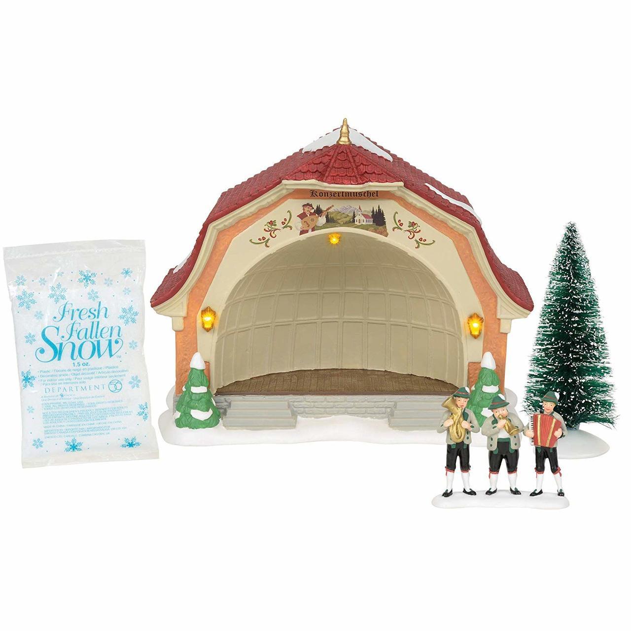 Department 56 Alpine Village Bavarian Concert Hall The Christmas Loft