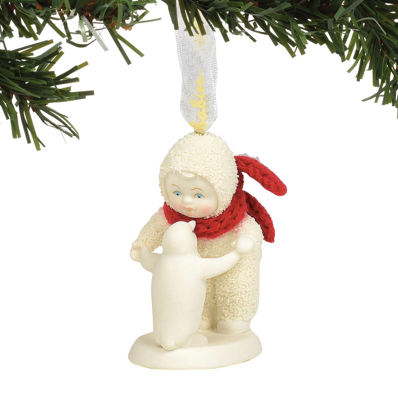 The Christmas Loft.Snowbabies Penguin Waltz Hanging Ornament 2019