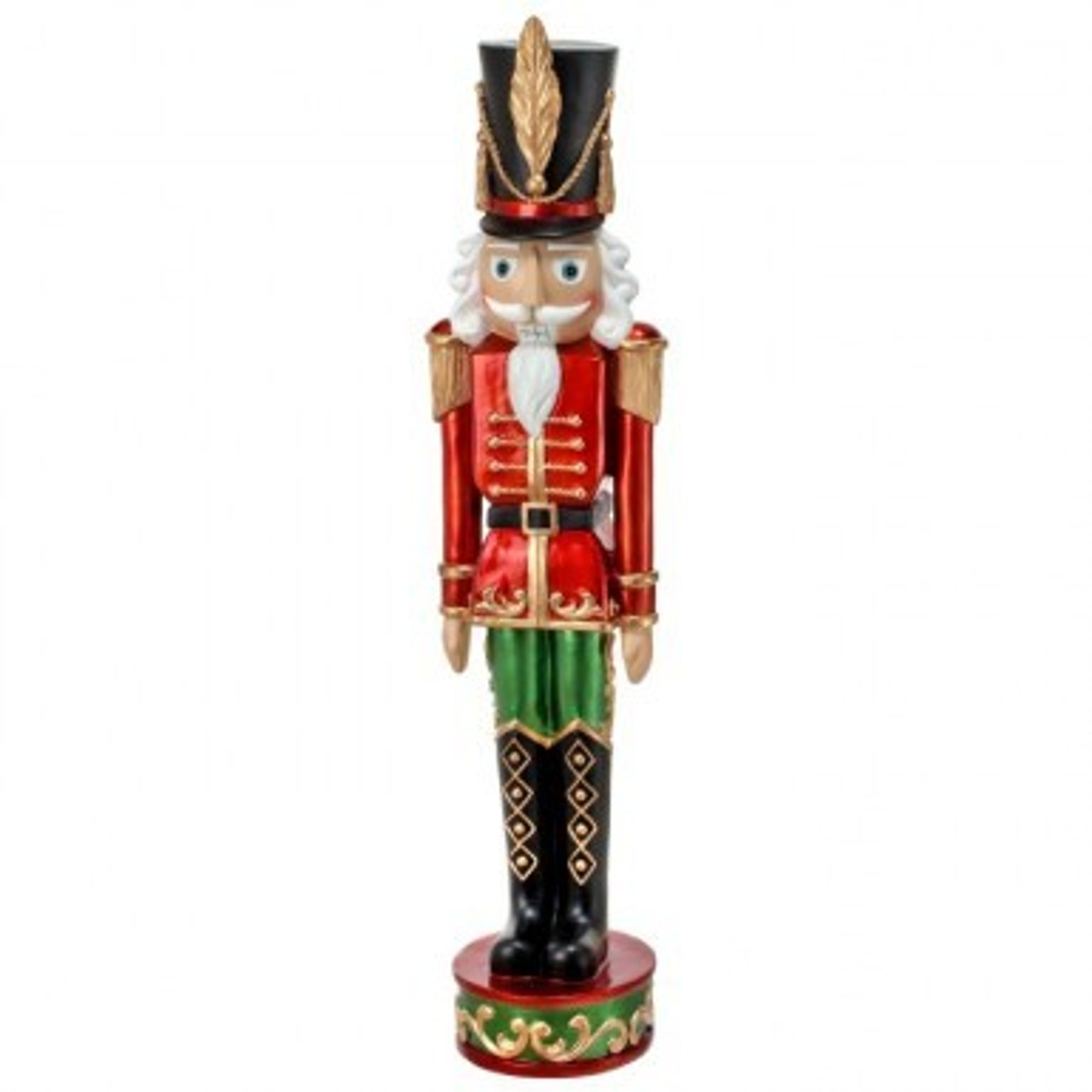 37 Quot Resin Traditional Nutcracker With Staff