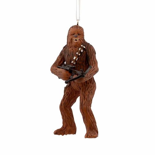 Hallmark Christmas Ornaments.Hallmark Christmas Ornament Star Wars Chewbacca With Bowcaster