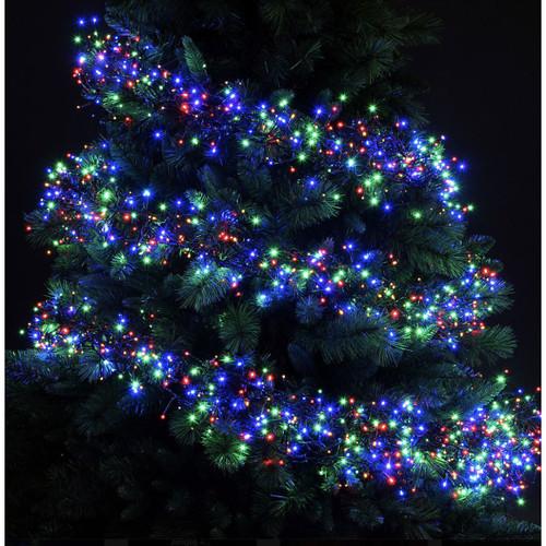 Lumineo 768 Led Multi Colour Christmas Cluster Lights Set Dark
