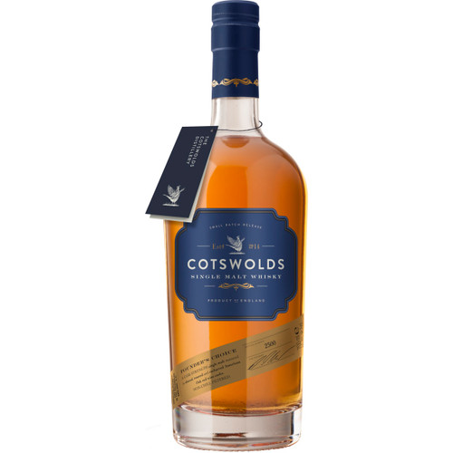 Cotswold's Founder's Choice Single Malt Whisky