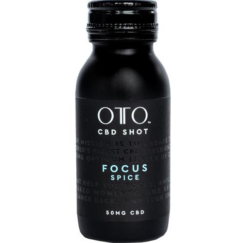 OTO CBD 50mg Focus Shot Pack of 12