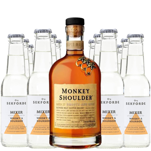 Monkey Shoulder Whisky & Sekforde Bundle