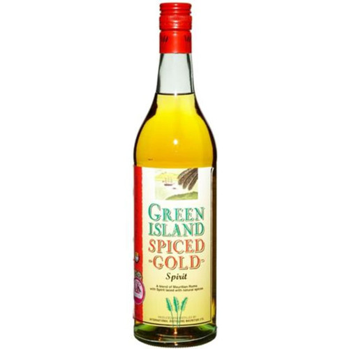 Green Island Spiced Gold Rum