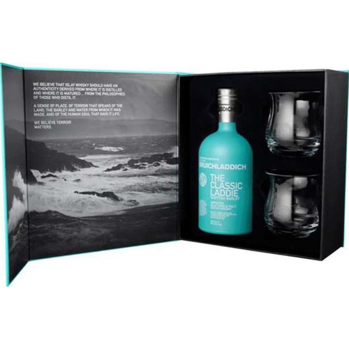 Bruichladdich The Classic Laddie Glass Gift Pack