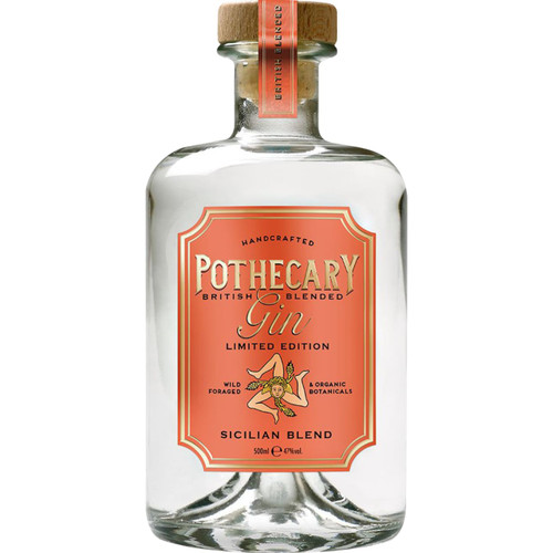 Pothecary Gin Sicilian Blend