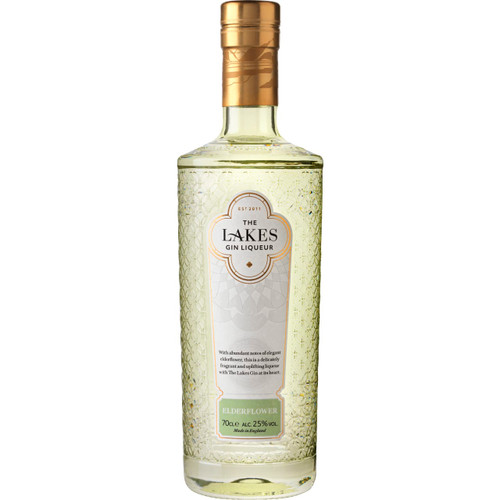 The Lakes Elderflower Gin Liqueur