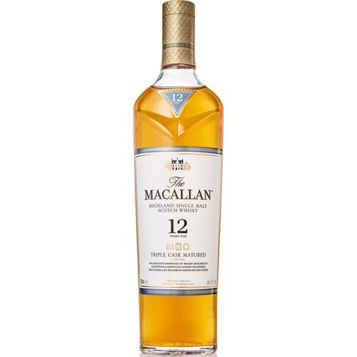 The Macallan 12yo Triple Cask Single Malt