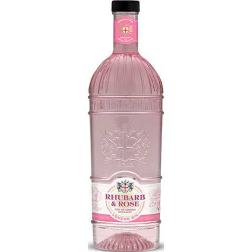 City of London Rhubarb & Rose Gin