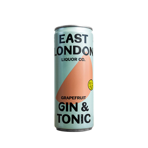 ELLC Grapefruit Gin & Tonic Can