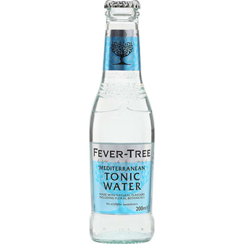 Fever-Tree Mediterranean Tonic Water Pack of 24