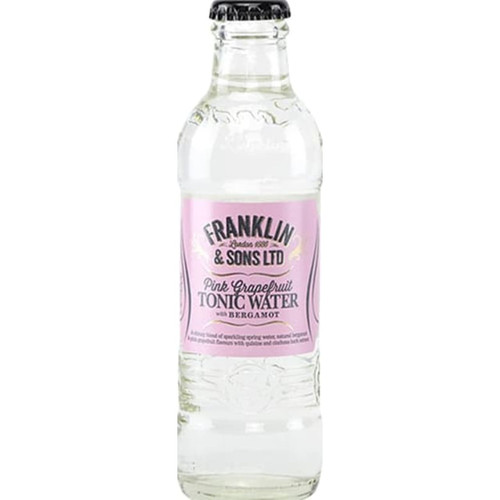 Franklin & Sons Pink Grapefruit Tonic with Bergamot Pack of 12