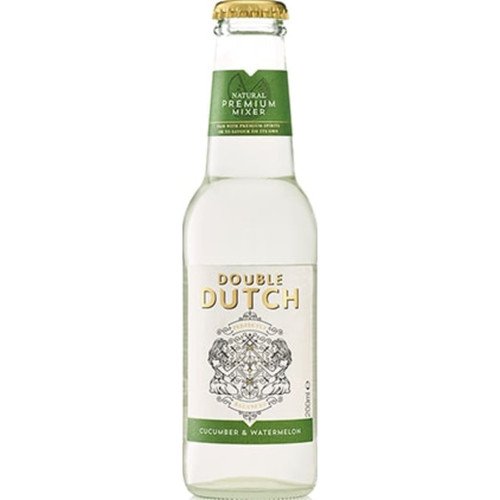 Double Dutch Cucumber and Watermelon Tonic Pack of 12