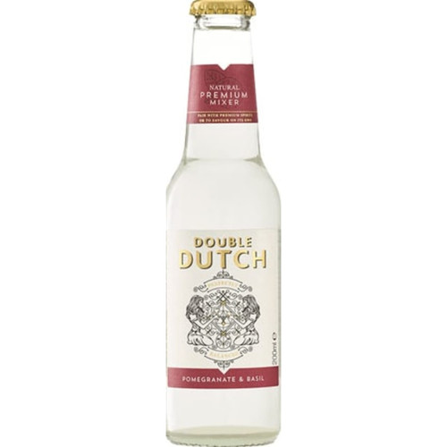 Double Dutch Pomegranate and Basil Tonic Pack of 12