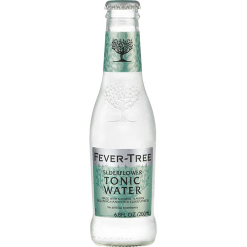 Fever-Tree Elderflower Tonic Water Pack of 12