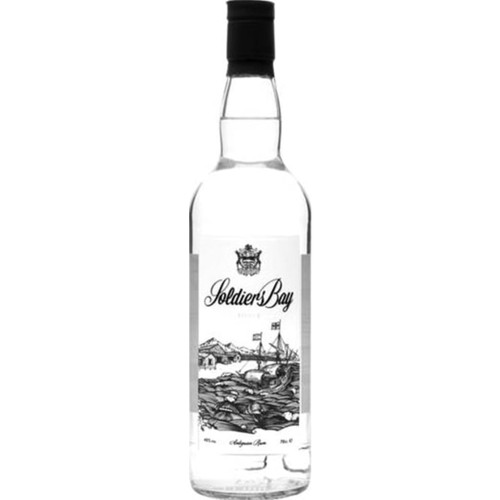 Soldiers Bay Silver Rum