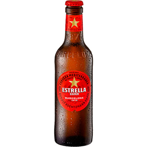 Estrella Damm Barcelona Case of 24x330ml Pack of 24