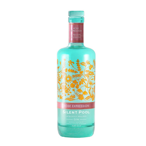 Silent Pool Gin Rose Expression