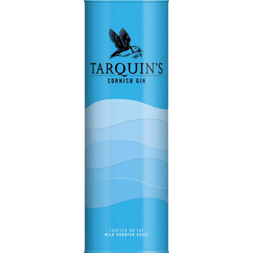 Tarquin's Cornish Dry Gin in a Metal Tin